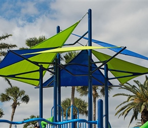 Burke Playground Shade Canopies