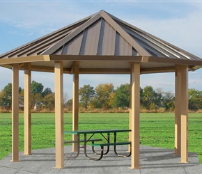 UltraSite Octagon Shelter